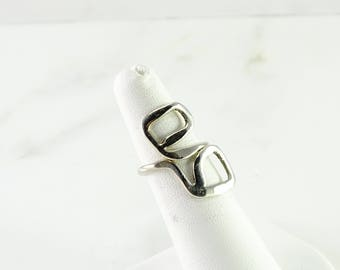 Free Formed Sterling Ring Size 5