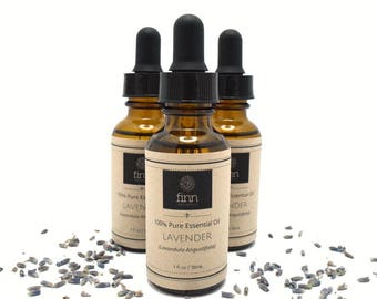 100% Pure Lavender Essential Oil ~ Relaxing Calming Aromatherapy ~ 1 oz / 30 ml