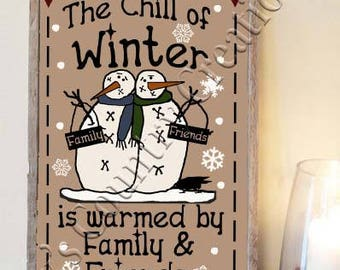 Primitive The Chill of Winter  SVG, PNG, JPEG