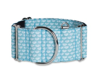 Dog Collar & leash (optional) SEA, Martingale or metal buckle