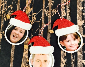 Christmas Bauble, Personalised Christmas Photo Bauble, Name Bauble, Photo Christmas Decoration, Christmas Decoration, Family Xmas Gifts