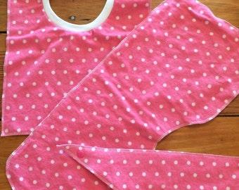 Pink Polka Dot Trio