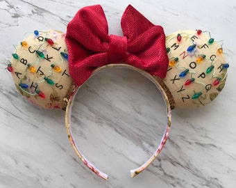 Stranger Things Minnie ears