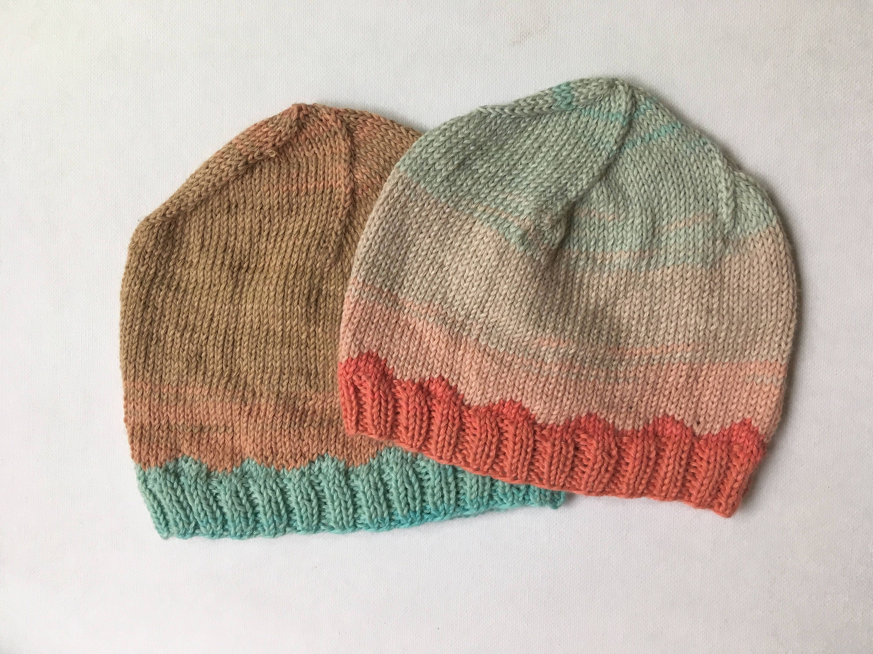 KNITTING PATTERN - Just Keep Swimming NICU Baby Hat, Preemie Hat ...