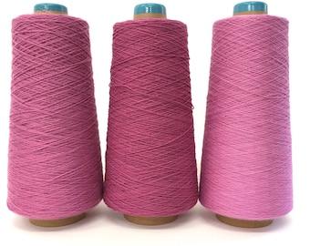 SAORI Cotton Yarn on Cone - Orchid Combo - Set of Three - Weaving Arts Austin