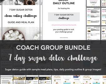 Coach Group Bundle : 7 Day Sugar Detox Challenge
