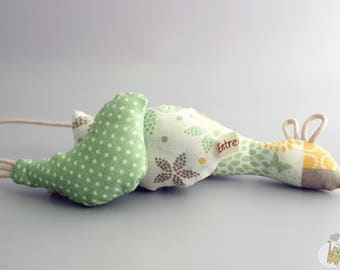 cat-toy with catnip (mouse,bird or fish)