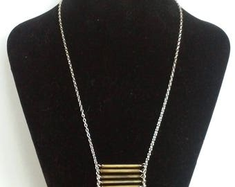 Long hanging necklace
