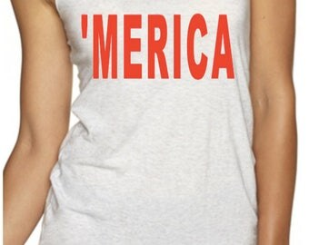 USA Tanks, 'Merica, America Tank, America Is My Jam, 4th of July, Memorial Day, America The Great, Independence Day Tanks