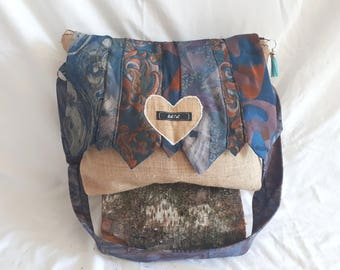 Bag shoulder strap ties