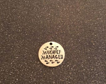 Harry Potter Mischief Managed charm