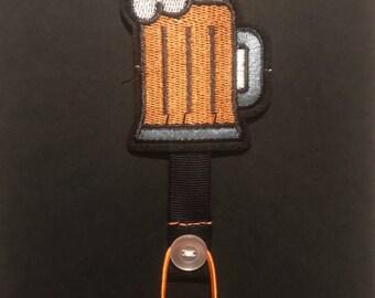 Beer Ribbon Bookmark