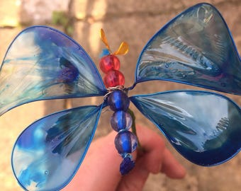 Cobalt - Butterfly Creature Feature - Handmade Butterfly Bouquet or Ceiling Ornament