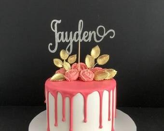 Any Name! Cake Topper, Custom Name Cake Topper, Custom Cake Topper, Personalized Name Cake Topper, Birthday Cake Topper