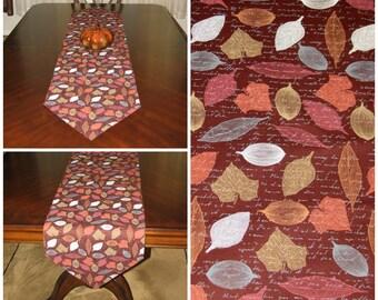 Modern Fall Decor Fall Table Runner Farmhouse Kitchen Runner Farmhouse Table  Runner Thanksgiving Runner Rustic Table