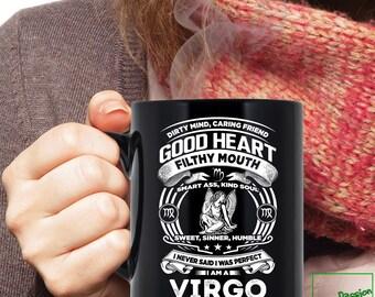 Virgo Mug, Virgo Zodiac Mug, Virgo Astrology Mug, Virgo Astrology Birthday Gift, Virgo Zodiac Sign, Virgo Horoscope Astrology Mug, MG1008