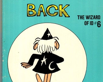 The Wizard of Id #6 The Wizard's Back Paperback Book Johnny Hart 1973