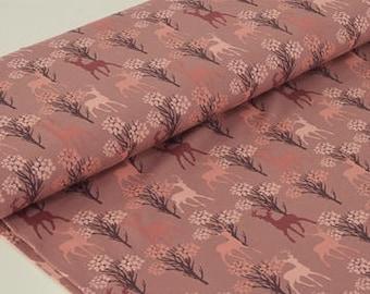 Jersey deer - dusky pink