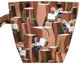 Goats Sock Knitting Project Bag | Knitting Bag | Crochet Bag | Storage Bag
