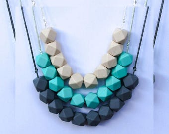 Silicone necklace (solids)