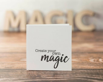 Hardcover notebook / Create your own magic