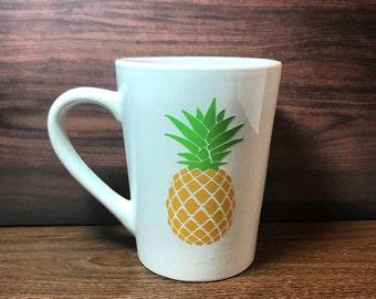 Pineapple Coffee Mug - 14 oz ceramic coffee mug