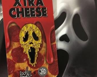 Xtra Cheese - Enamel Pin Collab