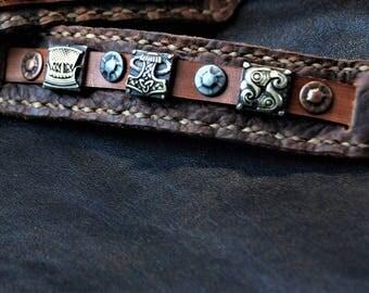 Viking Journey Cuff w/Buckle Closure
