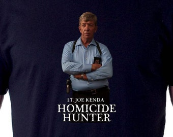 Lt. Joe Kenda Homicide Hunter T-Shirt
