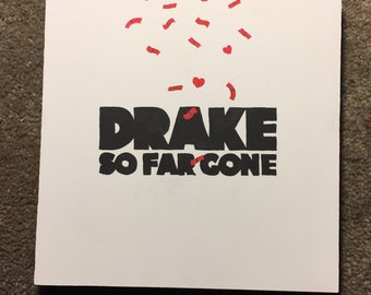 So Far Gone Album Cover Painting