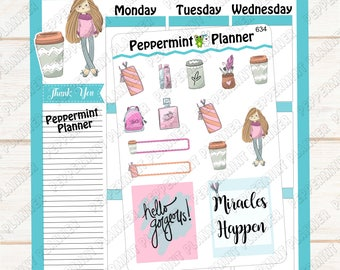 Miracles Happen --- Planner Stickers ---  634
