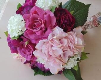 Silk Hand Tied Bouquet