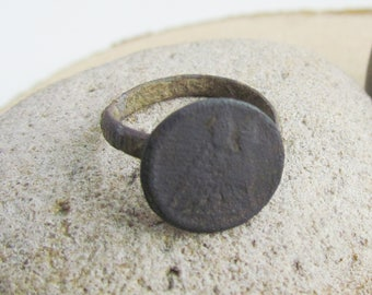antique ring rare ring rusty ring old ring ancient rare patina antique finds archaeological dig unique gorgeous primitive ring antique jewel