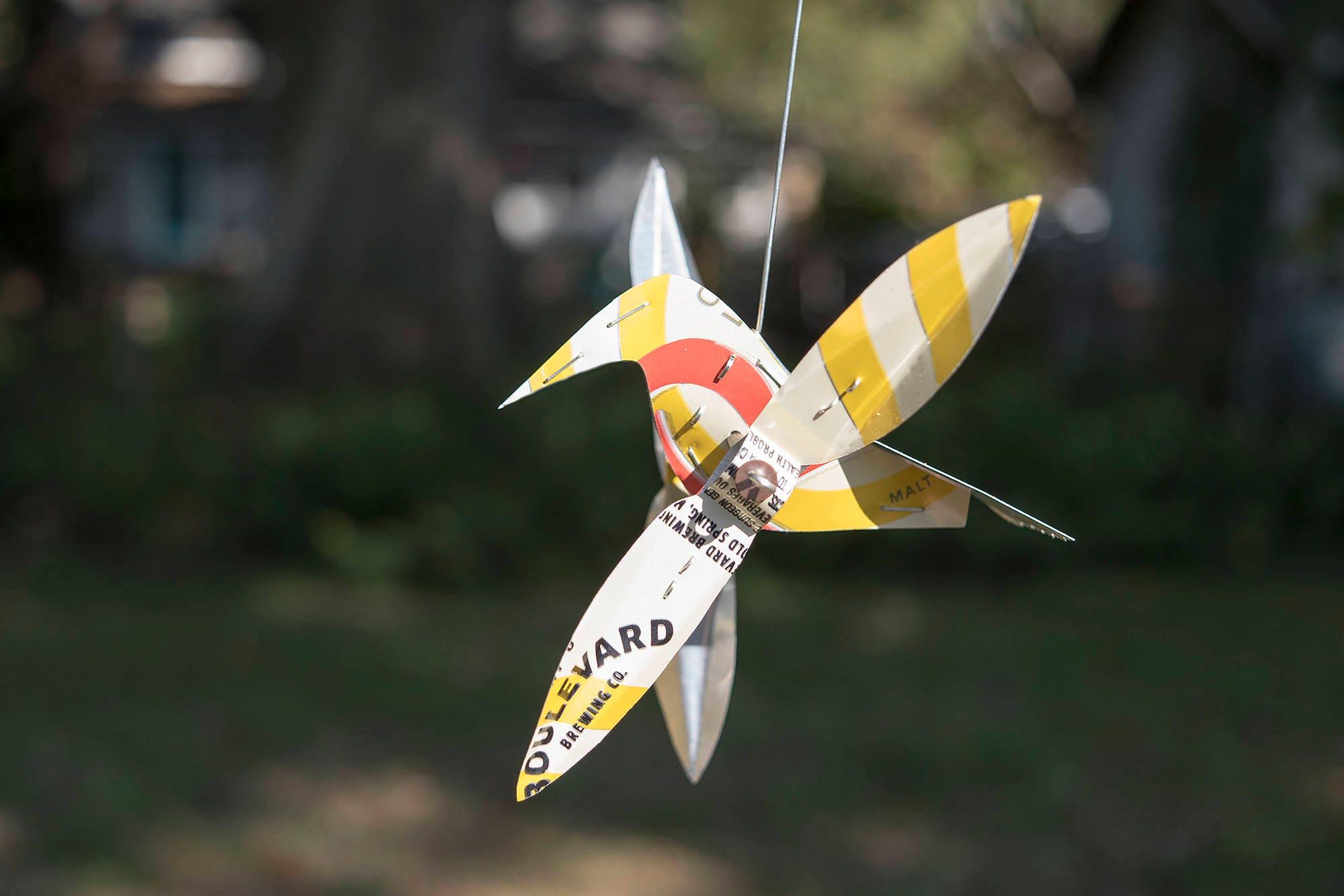 Garden Art Wind Spinners - Store Metal Garden Art, Go7732 Dandelion ...