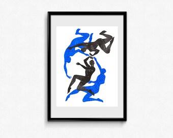 Danse (dance), original drawing