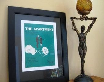 "Movie ""THE APARTMENT"" Theme Music, Classic Hollywood!  Original Music, 14 x 18 inches, 1949, Jack Lemmon, Shirley MacLaine, Academy Award"
