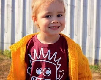 Monster Shirt, Children shirt, customizable shirt, name shirt, toddler shirt, godzilla shirt, child gift, personalized monster shirt, scary