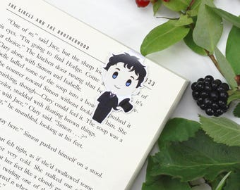 Will Herondale - Magnetic bookmark - Shadowhunter || infernal devices, book lover gifts, cassandra clare, clockwork angel, parabatai