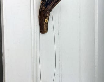 Wooden Branch Hook