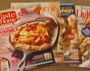 Four New Recipe Magazines Ready To Use!