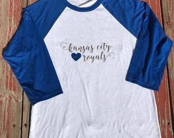 Kansas City Royals Raglan
