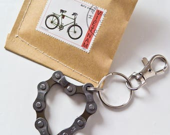 Upcycling Bike Keychain 3