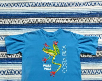 Costa Rica Vintage T Shirt