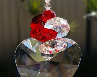 Lovers Heart Suncatcher