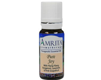 Pure Joy Synergy Blend (Natural Mood Enhancer) By Amrita Aromatherapy with Pure & Therapeutic Grade Essential Oils