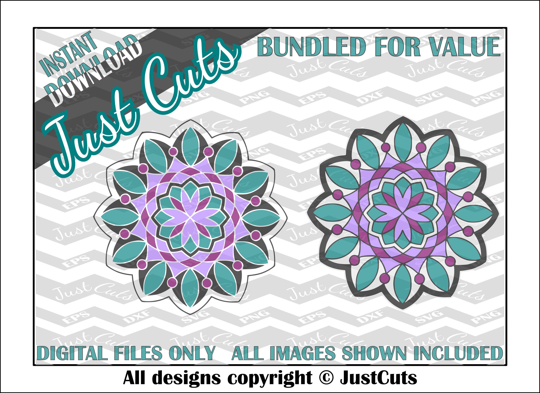 Download Mandala SVG mandala layered svg intricate svg svg eps