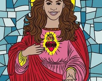 BEYONCE PRAYER CANDLE, Saint Beyonce candle, Beyonce lemonade, Beyonce formation, Queen Bey, Beyhive, Beyonce gift, soy candle, Beyonce gift