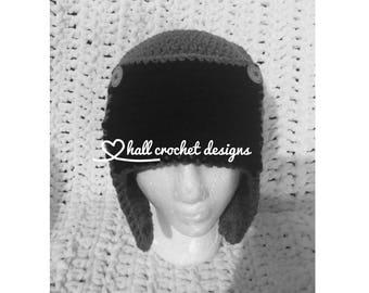 Crochet Trapper Hat