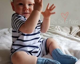 Knitted Socks, Baby Socks, Cashmere Socks, Hand Knit Socks, Toddler Socks, Newborn Gift, Baby Gift, Baby Shower Gift, Christening Gift