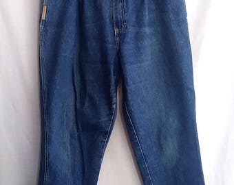 Vintage Gitano Jeans, pleated, 80s, 3 button front